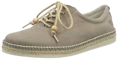 Tamaris Damen 23635 Espadrilles, Grau (Smoke Antic 276), 38