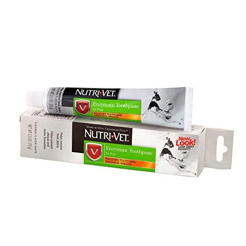 Nutri-Vet Dentifrice enzymatique pour chiens   Non moussant