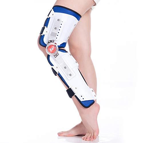 Soporte de rodilla ajustable para una mayor estabilidad en la vida cotidiana y los deportes - Mujeres y hombres - Rodillera transpirable Compresión - Menisco Rótula Ligamento roto - alivio del dolor