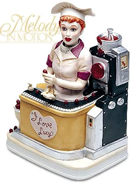 Melody In Motion I Love Lucy The Candy Factory Animation Musical Figure 07203