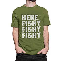 A Fishy Gift T-shirt for Anglers