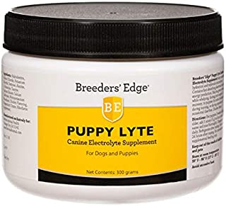 Revival Animal Health Breeders' Edge Puppy Lyte - Canine Electrolyte Supplement for Dogs and Puppies- 300 gm