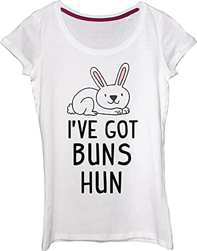 Little Bunny Got Buns Hun Camiseta para mujer.