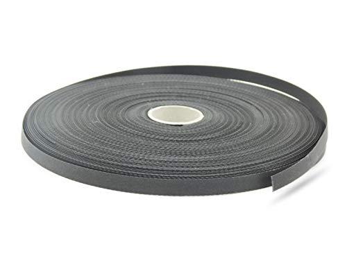Texband Jalousieband Reparaturband Meterware Farbe Schwarz Stärke 6x0,33 mm