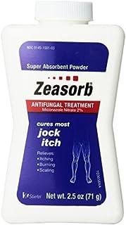 Zeasorb Antifungal Treatment Powder, Jock Itch 2.5 Oz (3 Pack) by Zeasorb