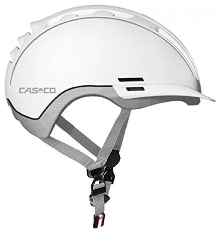 Casco, Erwachsene Fahrradhelm Roadster TC, Weiß, Gr. M-L (58-60 cm)