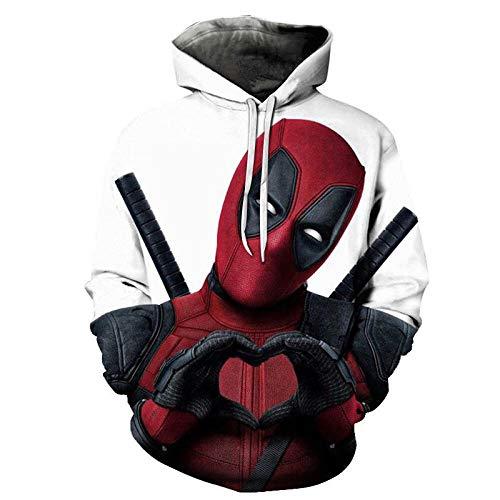 2021 Lustige HoodiesCool Street Herrenbekleidung Hoodies Deadpool Hoodie 3D-Gedruckte Langarm-Hoodies Tops-Lmo-1158_Size-5Xl