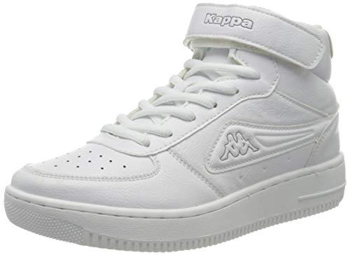 Kappa Bash Mid, Baskets Hautes Homme, Blanc (White/L´Grey 1014), 43 EU