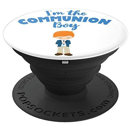 Regalo de Primera Comunión para niños pelirrojos 2020 PopSockets Agarre y Soporte para Teléfonos y Tabletas