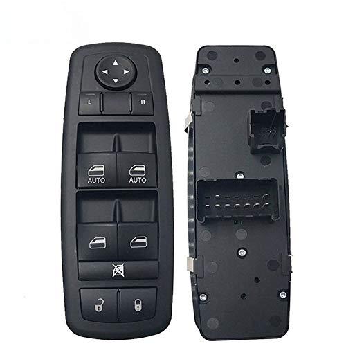 Interruptor de Control de Ventana Interruptor de Ajuste Ventana de Control Master Power 4602533AF 68110866AA Izquierdo Delantero eléctrico for Dodge Jeep en Forma for 2007-2012 Nitro Viaje Fit for la