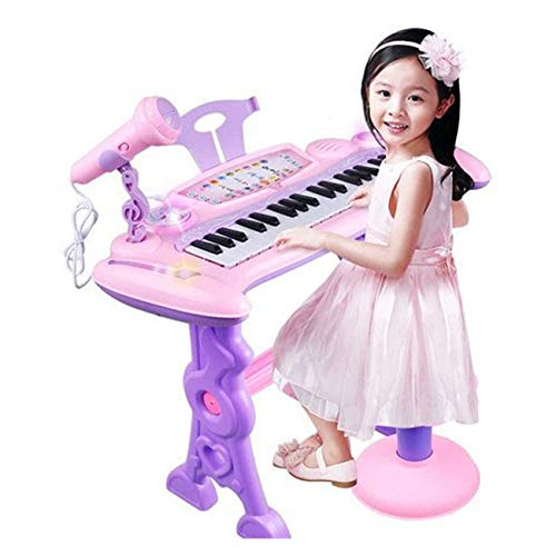 Review WXCC Kids Keyboard, 37-Key Multi-Functional Electronic Keyboard Piano for Kids with Microphon...