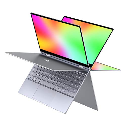 "BMAX Y13 2 en 1 Ordenador portátil, táctil Convertible Notebook de 13.3"" FHD 1080P Pantalla (Intel Quad Core N4120, 8GB RAM, 256GB SSD, Windows 10 Home)"
