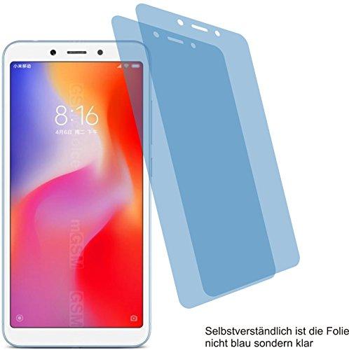 4ProTec I 2X ANTIREFLEX matt Schutzfolie für Xiaomi Redmi 6A Bildschirmschutzfolie Displayschutzfolie Schutzhülle Bildschirmschutz Bildschirmfolie Folie