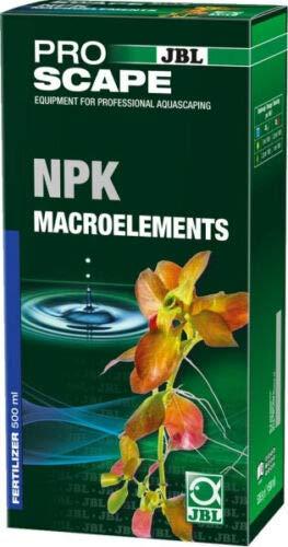 JBL- Aqua NPK Macroelements 500ml, Stickstoff-Phosphor-Kalium Pflanzendünger