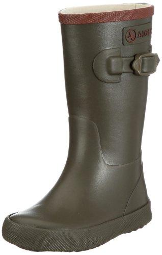 Aigle Unisex-Kinder Perdrix Gummistiefel Grün (kaki 7) 35