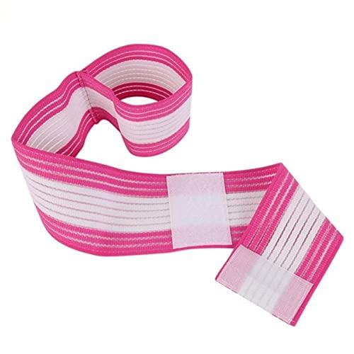 YMOMY Protección Soporte de múltiples Colores portátil Rodilla Correa de la muñeca elástica Deportes Vendaje del Abrigo de la Venda del Vendaje del Codo del cojín Longitud (Color : RW)