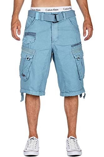 Geographical Norway Herren Shorts Color Sky Blue L