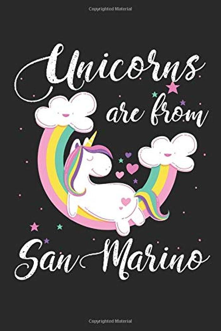 心配する嫌がる債務者Unicorns Are From San Marino: A Blank Lined Unicorn Journal for Travelers or People From San Marino, Makes a Great San Marino Gift, San Marino Journal, Or San Marino Souvenir