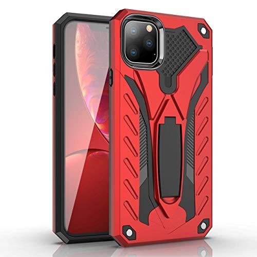 LRJBFC Funda de Armadura a Prueba de Golpes para Huawei Honor P8 P9 P10 P20 P30 Mate 9 10 20 Pro Lite Plus PORNÍA Titular Funda Protectora (Color : Red, Material : For P30 Lite)