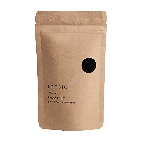 ブレンド ハーブティー EDOBIO(エドビオ) リラックスフロー 40g ブルーベリー くにさと 35 合成着色料 合成香料 合成保存料不使用