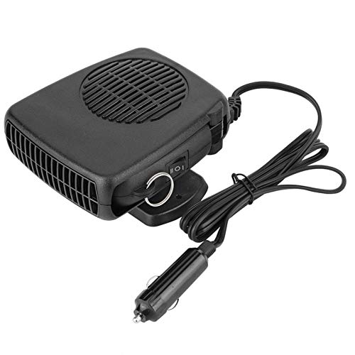 aqxreight - Car Heater, 12V 150W Universal Car Portable 2 in 1 Ceramic Heating Cooling Heater Fan Defroster Demister