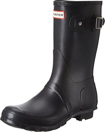 Hunter Women's Warm Lining Rain Boots, Black (Original Short Wfs1000Rma), 7...