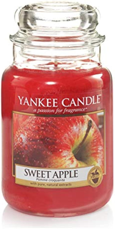 Yankee Candle Classic Housewarmer Gross, Sweet Apple, Duftkerze, Raum Duft im Glas Jar, 1304330E