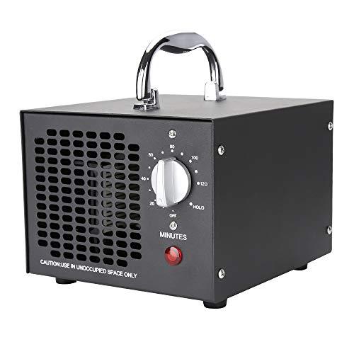 wolketon generador de ozono 5,000mg / h, purificador de Aire de ozono con Temporizador, ozonizador de Dispositivo de ozono 65W para Habitaciones