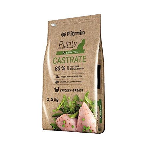 Fitmin Alimentación Purity Castrate. Comida Completa para Gatos Adultos con Sobrepeso, Castrados Y Esterilizados