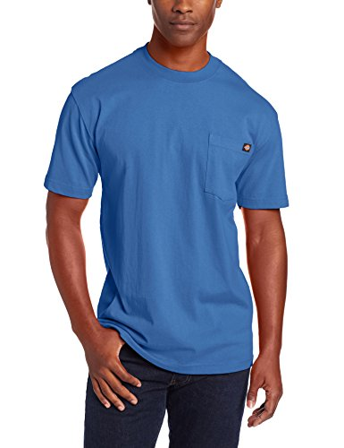 Dickie's Men's Heavyweight Crew Neck Short Sleeve Tee Big-tall,Royal Blue,X-Large Tall