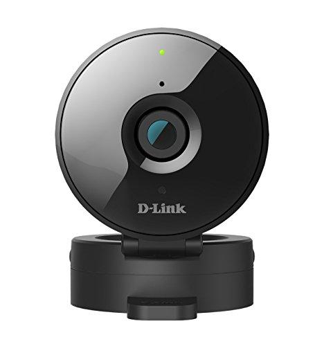 D-Link DCS-936L - Cámara HD WiFi videovigilancia (IP con micrófono y visión nocturna, ranura microSD, compatible con app mydlink - iOS y Android)