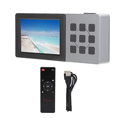 Sxhlseller Tarjeta de Captura, Pantalla de 3 Pulgadas Caja de Grabación de Captura de Video de Interfaz Múltiple HD 1080P Adquisición de Grabadora 60FPS