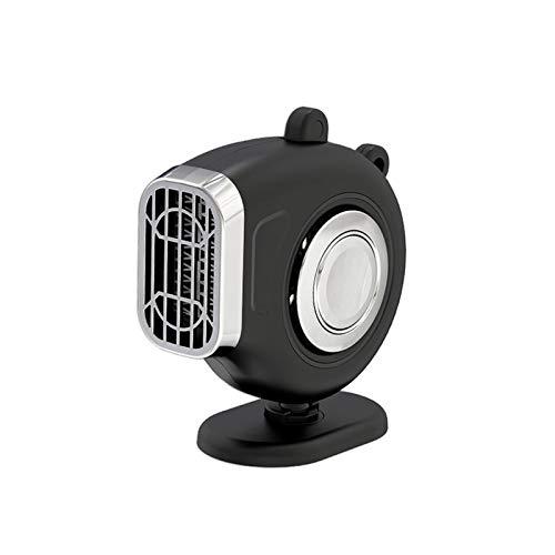 Calentador de Automóvil 3 en 1,12V 120W Ventilador Automático Ajustable Tablero Instrumentos del Vehículo del Automóvil Calentador Eléctrico Ventilador de Enfriamiento Ventana Parabrisas Desempañador