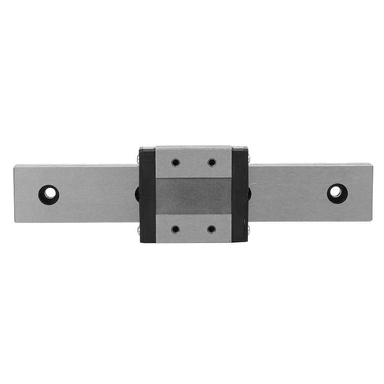 心理学脱獄シネウィZCH-CH 150ミリメートルX 24ミリメートルリニアモーションレールキット、リニアガイドブロックとレールをスライディングLMLF24B-150-1R軸受鋼のミニチュアリニア