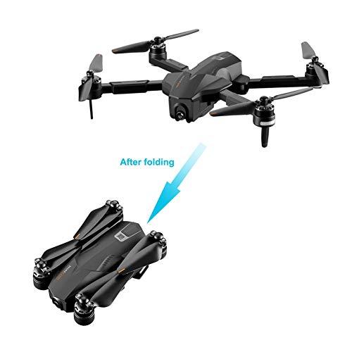 vogueyouth Drone Quadcopter Plegable RC con cámara 4K HDR Video en Vivo, 1080P 5G WiFi GPS Posicionamiento Inteligente Seguimiento de aplicación Drones de Control