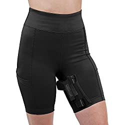 UnderTech UnderCover Women's Concealed Carry Thigh Holster Shorts