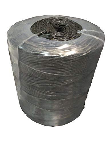 Cuerda de rafia negra para empacar Bobina de 9 Kg (+/- 1.170 metros)