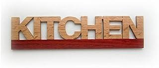 KITCHEN RN6 キッチン 木製ドアプレート ドアを開けると森の香りがする! ウッドサイン「新・森の生活」シリーズ RN6