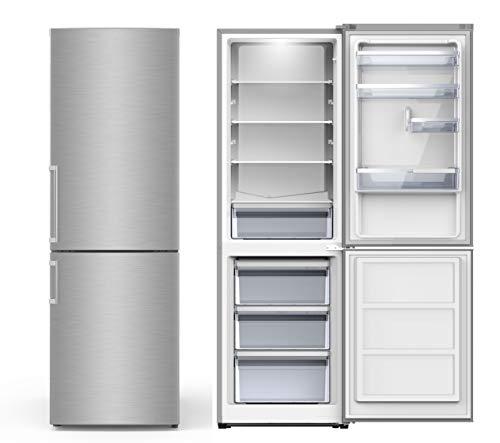 PKM KG 288.4 N Edelstahl Kühlgefrierkombination Kühlschrank groß
