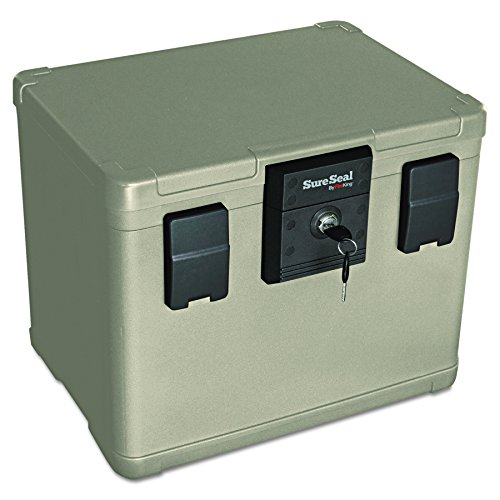 SureSeal by FireKing SS106 1/2 Hour Fireproof Waterproof Safe Chest,  Holds Hanging Files, 0.6 CU FT Storage Capacity