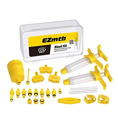 LWWOZL Kit de Purga de Frenos Hidráulicos de Frenos de Disco Mineral para Shimano, Magura, Tektro y Sram Series MTB, Universal Herramientas de Reparación de Frenos