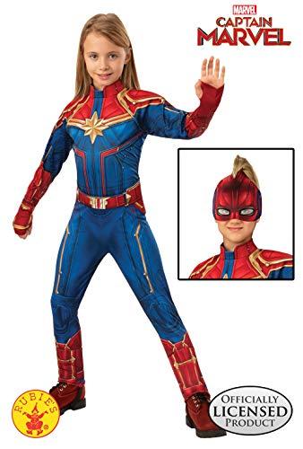 Rubies - Disfraz Oficial del Capitán Marvel Hero para niños ...