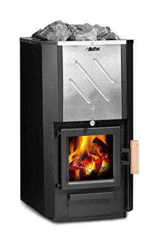 FinTec Holz-Saunaofen Iwo Reflex: 15,9 kW/keine BImSchV