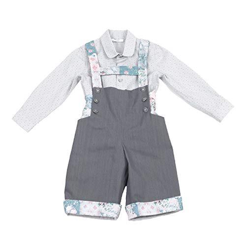 MI HIJA Y YO Traje de niño bebé (Desde 12 Meses hasta 24 Meses) - Modelo Pradera - Hecho a Mano - Excellent