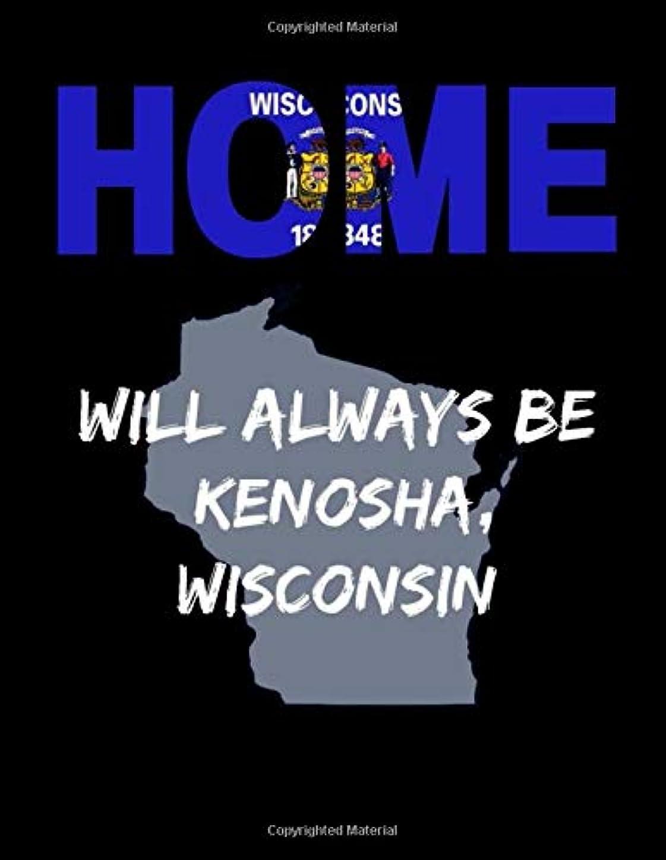 厄介な最大一過性Home Will Always Be Kenosha, Wisconsin: WI State Note Book