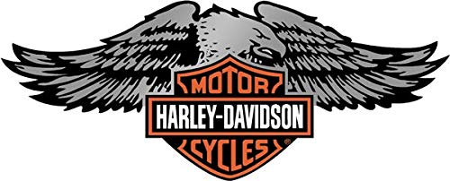 Retrolo-Sticker für Helm, Harley Davidson Adler