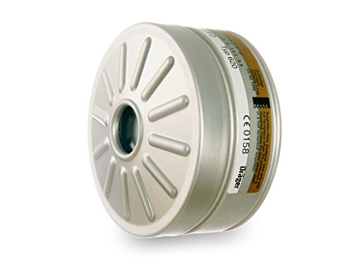Dräger X-plore Kombinationsfilter 1140A2B2P3R D für Gas und Partikel (EN 14387) Qualitätsfilter für Masken mit Rundgewinde RD40(EN 148?1)