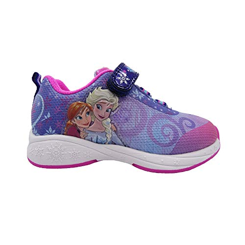 Frozen Sneakers Shoes Elsa and Sister (8) Purple