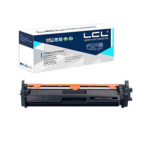 LCL Compatible Cartucho de tóner 17A 217A CF217A CF227A 1Negro con Chip Reemplazo para HP Laserjet Pro M102 M102a M102w HP Laserjet Pro MFP M130 M130a M130fn M130fw M130nw M132 M132a M132fn N132fp