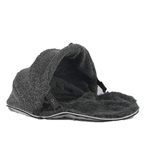 Ambient Lounge Small Cat Hoodie Spare Fur Faux Cover Haustierbett Sitzsack Fellbezug, Kunstfellbezug mit höchster Qualität, S